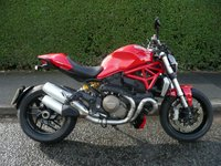 2015 DUCATI M1200 Monster ABS £7995.00