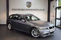 USED 2012 12 BMW 3 SERIES 2.0 318D M SPORT TOURING 5DR 141 BHP + PRO SATELLITE NAVIGATION + BMW SERVICE HISTORY + BLUETOOTH + SPORT SEATS + CRUISE CONTROL + RAIN SENSORS + PARKING SENSORS + 18 INCH ALLOY WHEELS +