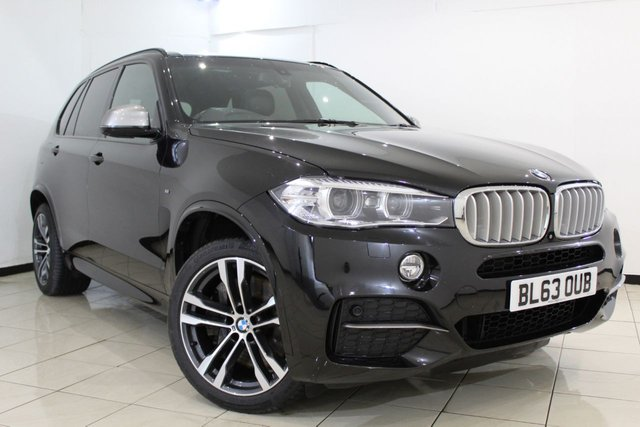 View our 2014 63 BMW X5 3.0 M50D 5DR AUTOMATIC 376 BHP