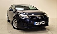 USED 2012 61 TOYOTA AVENSIS 2.0 D-4D T2 4d 124 BHP 1 OWNER FROM NEW + EXCELLENT CONDITION