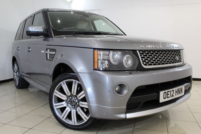 View our 2012 12 LAND ROVER RANGE ROVER SPORT 3.0 SDV6 AUTOBIOGRAPHY SPORT 5DR AUTOMATIC 255 BHP