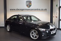 USED 2015 15 BMW 3 SERIES 2.0 320D M SPORT 4DR AUTO 181 BHP + FULL LEATHER INTERIOR + FULL SERVICE HISTORY + 1 OWNER FROM NEW + BUSINESS SATELLITE NAVIGATION + BLUETOOTH + HEATED SPORT SEATS + DAB RADIO + CRUISE CONTROL + PARKING SENSORS + 17 INCH ALLOY WHEELS +