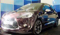 USED 2015 65 DS DS 3 1.6 BLUEHDI DSPORT S/S 3d 118 BHP A beautiful example of this very popular sporty family hatchback finished in stunning purple(noir orbisden)  with contrasting black roof ,bellone alloys and chrome mirrors,This car also comes with full leather interior,active city brake and touch screen display with media interface .
