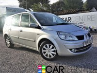 USED 2008 08 RENAULT GRAND SCENIC 1.6 DYNAMIQUE VVT 7STR 5d 111 BHP PART EX CLEARANCE - TRADE SALE