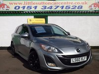 USED 2010 60 MAZDA 3 1.6 SPORT 5d 105 BHP FULL SERVICE HISTORY