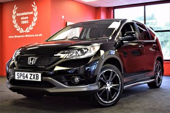 2014 HONDA CR-V 2.2 I-DTEC BLACK EDITION 5d 148 BHP £18495.00