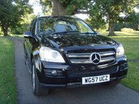 USED 2007 57 MERCEDES-BENZ GL CLASS 3.0 GL320 CDI 5d AUTO 222 BHP LUXURY 7 SEATER WITH FULL LEATHER MOTED 23/08/2018 LAST SERVICE@02/08/2017
