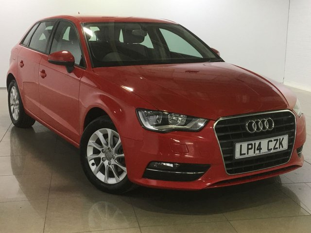 View our 2014 14 AUDI A3 1.6 TDI SE 5d 109 BHP