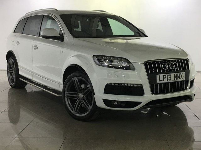 View our 2013 13 AUDI Q7 3.0 TDI QUATTRO S LINE PLUS 5d AUTO 245 BHP