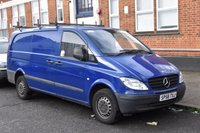 2008 MERCEDES-BENZ VITO 2.1 109 CDI EURO 4 LONG LWB FWD 6d 95 BHP DIESEL PANEL MANUAL VAN £1450.00