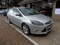 USED 2012 62 FORD FOCUS 1.6 ZETEC TDCI 5d 113 BHP FULL SERVICE HISTORY, £20 ROAD TAX, 2 KEYS, 2 OWNERS FROM NEW