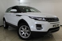USED 2012 62 LAND ROVER RANGE ROVER EVOQUE 2.2 TD4 PURE 5DR 150 BHP FULL LAND ROVER SERVICE HISTORY + HEATED LEATHER SEATS + PARKING SENSOR + BLUETOOTH + CRUISE CONTROL + MULTI FUNCTION WHEEL + 18 INCH ALLOY WHEELS