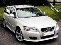 USED 2011 11 VOLVO V50 2.0 D4 R-DESIGN 5d AUTO 175 BHP STUNNING*** ONLY 1 AVAILABLE IN THE UK***