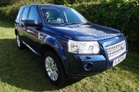 """USED 2010 60 LAND ROVER FREELANDER 2.2 TD4 HSE 5d AUTO 159 BHP HISTORY-ONLY 37k-NAV Presented with 2 keys, Good Service History & Only 38K Miles from New, 12 Months MOT, Leather Electric Heated Memory Seats, Colour Sat NAV, DAB Radio with 6 Stack CD Player, Bluetooth, Twin Glass Electric Sunroofs, Dual Climate Control, Front & Rear Parking Sensors, Cruise Control + Speed Limiter, Auto Lights & Wipers, 18"""" Alloys"""