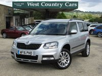 USED 2016 16 SKODA YETI 1.2 OUTDOOR SE TSI 5d 109 BHP Great Specification