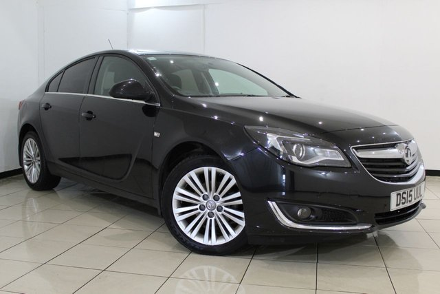 View our 2015 15 VAUXHALL INSIGNIA 1.8 DESIGN 5DR 138 BHP