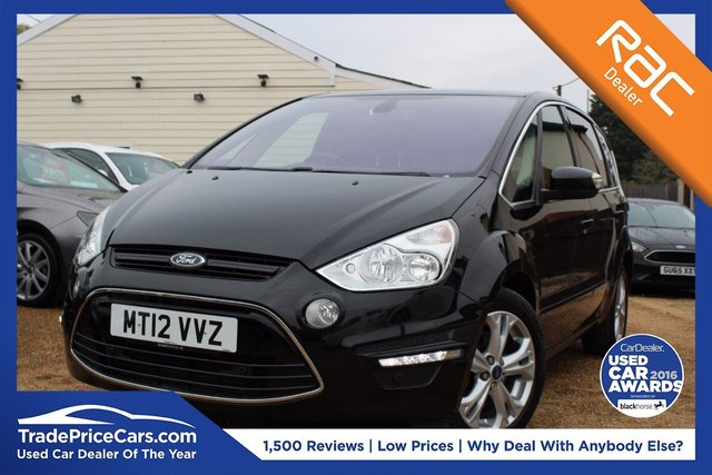 View our 2012 12 FORD S-MAX 2.0 TITANIUM TDCI 5d AUTO 161 BHP