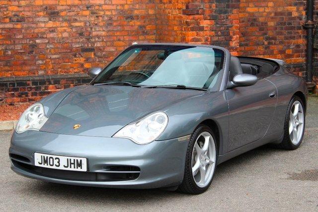 2004 03 PORSCHE 911 3.6 996 Carrera 4 Cabriolet AWD 2dr