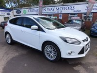 USED 2014 64 FORD FOCUS 1.0 ZETEC 5d 124 BHP 0% AVAILABLE ON THIS CAR PLEASE CALL 01204 317705