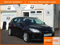 USED 2014 14 FORD FOCUS 1.6 EDGE ECONETIC TDCI 5d 104 BHP 4 Service Stamps, Cruise control , Air con