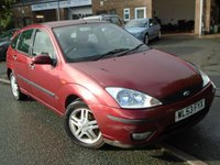 USED 2003 53 FORD FOCUS 1.8 ZETEC 5d 113 BHP HEATED LEATHER SEATS+NEW MOT