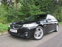 2014 BMW 5 SERIES 2.0 520D M SPORT 4d AUTO 181 BHP £16295.00