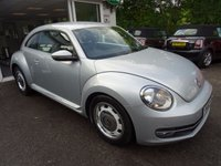 USED 2012 62 VOLKSWAGEN BEETLE 2.0 DESIGN TDI 3d 139 BHP Low Mileage, Full Volkswagen Service History + Just Serviced by ourselves, NEW MOT (to be completed), Diesel, 6 Speed Gearbox