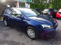 USED 2010 60 VOLKSWAGEN GOLF 1.6 S TDI 5d 89 BHP Low Mileage, Full Service History + Just Serviced by ourselves, NEW MOT (to be completed), Two Previous Owners, Diesel, Excellent on fuel! Only £30 Road Tax!