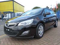 2012 VAUXHALL ASTRA 1.6 EXCLUSIV 5d AUTO  £SOLD