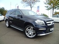 USED 2014 MERCEDES-BENZ GL CLASS 3.0 GL350 CDI BLUETEC AMG SPORT 5d AUTO 258 BHP ONE OWNER , FULL SERVICE HISTORY,  7 SEATER, LOADS OF EXTRAS , EXTENDED MERC WARRANTY 2018