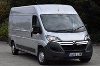 2015 CITROEN RELAY 2.2 35 L3H2 ENTERPRISE HDI 5d 129 BHP AIR CON LWB H/ROOF DIESEL MANUAL VAN  £10990.00