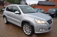 USED 2010 60 VOLKSWAGEN TIGUAN 2.0 MATCH TDI 4MOTION 5d 168 BHP VERY LOW MILEAGE