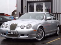 USED 2007 57 JAGUAR S-TYPE 2.7 XS D 4d 206 BHP STUNNING EXAMPLE WITH FULL SERVICE HISTORY AND FULL LEATHER INTERIOR, 2 KEYS