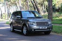 2010 LAND ROVER RANGE ROVER 3.6 TDV8 VOGUE 5d AUTO 271 BHP £20950.00