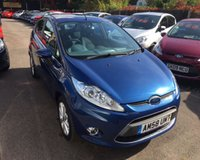 USED 2009 58 FORD FIESTA 1.25 ZETEC THIS VEHICLE IS AT SITE 1 - TO VIEW CALL US ON 01903 892224