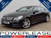 USED 2011 61 MERCEDES-BENZ E CLASS 2.1 E250 CDI BLUEEFFICIENCY SPORT ED125 2d AUTO 204 BHP