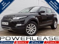 USED 2014 64 LAND ROVER RANGE ROVER EVOQUE 2.2 SD4 PURE TECH 5d AUTO 190 BHP BLACK FRIDAY WEEKEND EVENT, SAT NAV 1 OWNER DAB BLUETOOTH