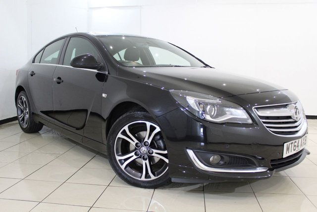 View our 2014 64 VAUXHALL INSIGNIA 2.0 LIMITED EDITION CDTI 5DR 128 BHP