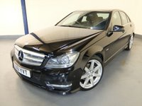 2011 MERCEDES-BENZ C CLASS 2.1 C200 CDI BLUEEFFICIENCY SPORT 4d AUTO 135 BHP £9480.00
