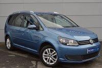 2012 VOLKSWAGEN TOURAN 1.6 SE TDI 5d 106 BHP £8850.00