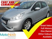 USED 2015 15 PEUGEOT 208 1.2 VTi Active 5dr 82BHP