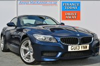 USED 2013 13 BMW Z4 2.0 Z4 SDRIVE20I M SPORT ROADSTER 2d 181 BHP LOVELY CREAM LEATHER INTERIOR