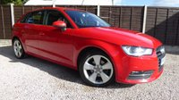 USED 2013 63 AUDI A3 2.0 TDI SPORT 5dr £20/yr Tax, 1 owner, FASH
