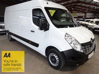 2016 RENAULT MASTER 2.3 LM35 BUSINESS DCI LWB S/R P/V 125 BHP ONE OWNER *LOW MILEAGE* £12995.00