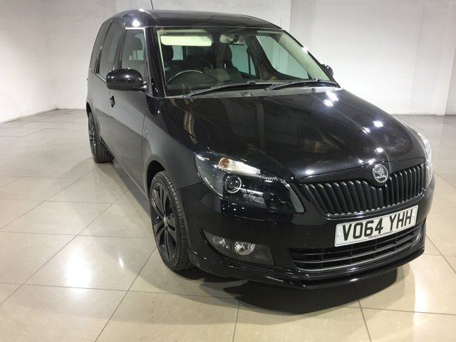 View our 2014 64 SKODA ROOMSTER 1.2 BLACK EDITION 5d 105 BHP