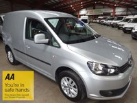 2014 VOLKSWAGEN CADDY 1.6 C20 TDI HIGHLINE 101 BHP-ONE OWNER -AIRCON £8995.00