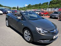USED 2013 13 VAUXHALL CASCADA 1.4 SE S/S 2d 140 BHP One owner with only 13,000 miles & just serviced