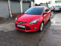 USED 2013 13 FORD FOCUS 1.6 ZETEC TDCI 5d 113 BHP DAB Radio-Service History-Start/Stop-USB and AUX Sockets