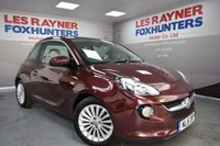 USED 2015 15 VAUXHALL ADAM 1.2 GLAM 3d 69 BHP Full Vauxhall Service History, 1 owner , Low miles , Air conditioning