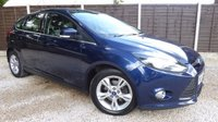 USED 2013 63 FORD FOCUS 1.6 ZETEC ECONETIC TDCI 5dr £0 Tax, Great Spec, FSH
